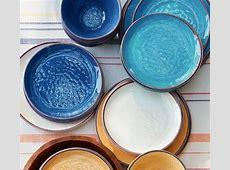 Swirl Melamine Dinnerware   Stone   Pottery Barn