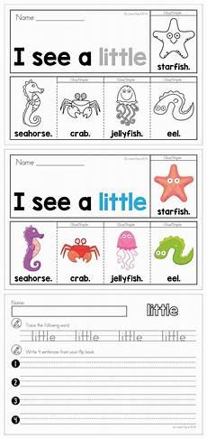 sight words fluency flip books summer sight words words kindergarten writing