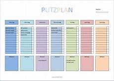 Putzplan Haushalt Xobbu