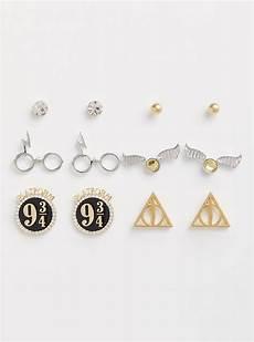 Harry Potter Ohrringe - harry potter earrings set of 6 torrid
