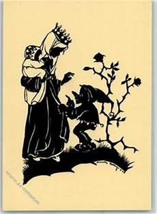 Zwerge Malvorlagen Ausdrucken Ebay Postkarte Mit Scherenschnitt Motiv M 196 Rchen Andersen Die