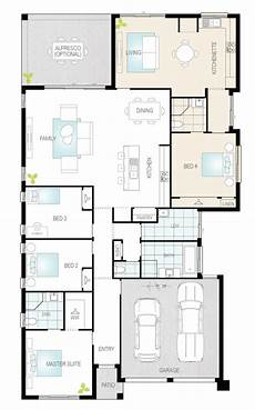 single level house plans duo dual living single storey floor plan mcdonald jones