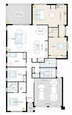 single level house plans duo dual living single storey floor plan mcdonald jones