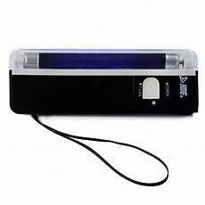 hde portable black light 395 nm uv ultra violet stain counterfeit detection flashlight