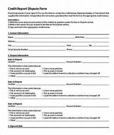 credit report form 13 best free credit report templates free word pdf docs free premium templates