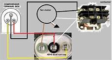 hvac contactor wiring diagram gallery