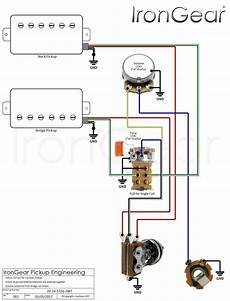 2 Humbuckers 1 Volume 1 Tone Best Of Wiring Diagram Image