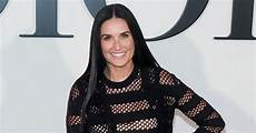demi moore opens up about her headline making fendi runway