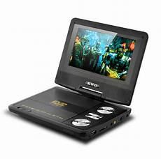 7 inch swivel screen portable dvd player cd copy analog