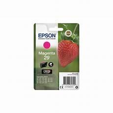 cartouche epson 29 fraise epson 29 fraise magenta cartouche d origine c13t29834012