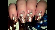 Weihnachtliches Christbaumkugel Nageldesign Selber Machen