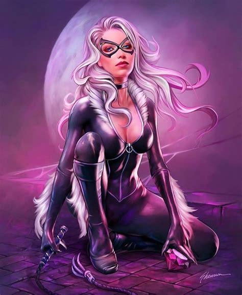 Marvel Black Cat Art