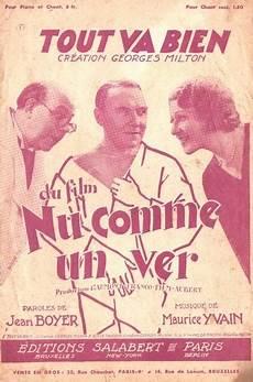 Musique De 1928 1945 Nu Comme Un Ver 1933