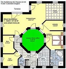 atrium bungalow grundrisse winkelbungalow mit atrium 3 3 variante 2