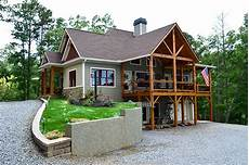 lake house plans for sloping lots lake wedowee creek retreat house plan craftsman lake