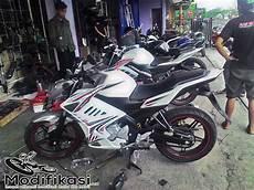 Bengkel Modifikasi Motor by Berapa Sih Harga Modifikasi Motor Vixion Fairing