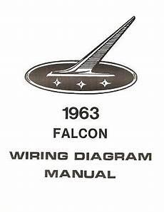 1963 ford falcon wiring diagram manual ebay