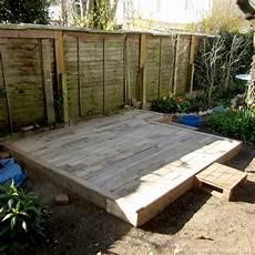 fabrication d une terrasse en bois diy 03 faire une terrasse en palettes
