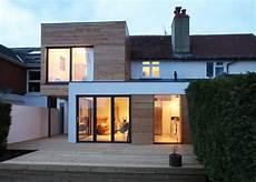Agrandissement De Maison Moderne Design En Bois The Cube