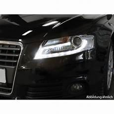 realdrl led tagfahrlicht scheinwerfer schwarz f 252 r audi a4