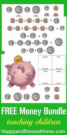 counting money printable worksheets happy and blessed home