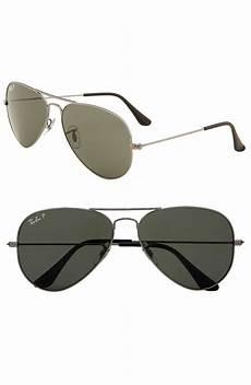 ban new classic polarized aviator sunglasses in silver