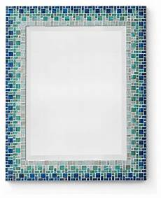 Bathroom Mirrors Mosaic by Blue Mosaic Mirror Classic Collection