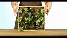 cadre mural vegetal comment fabriquer un cadre v 233 g 233 tal diy