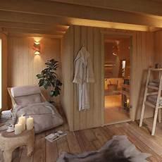 sauna ruheraum möbel vergr 246 223 erung house inspo wohnen gartenhaus mit sauna