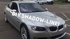 shadow line bmw permanent bmw shadow line trim on the cheap