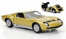 modellautos lamborghini miura sv 1 43 autoart gold 1971