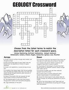 earth science geologic history worksheet 13315 geology crossword geology geology humor 6th grade science