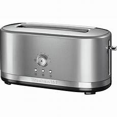 tostapane kitchen aid tostapane con scomparto lungo a controllo manuale 5kmt4116