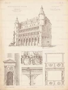 Titel Schloss Offenbach Aus Architekton Studien