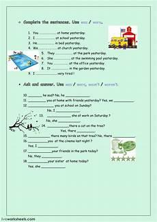 was were interactive worksheet