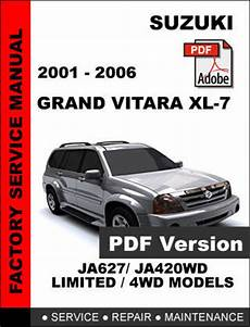 service repair manual free download 2002 suzuki grand vitara head up display suzuki grand vitara xl7 2001 2002 2003 2004 2005 2006 oem service repair manual service