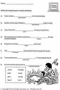 nounorama word usage third grade vocabulary activity jumpstart printable english