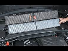 bmw e46 3 series a c cabin air filter replacement