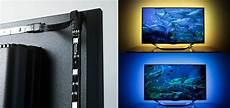 tv hintergrundbeleuchtung led leisten mit fernbedienung
