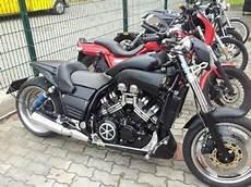 umgebautes motorrad yamaha v max vmx 1200 nixgaschris