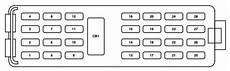 fuse box for mercury mercury mountaineer third generation 2005 2010 fuse box diagram auto genius