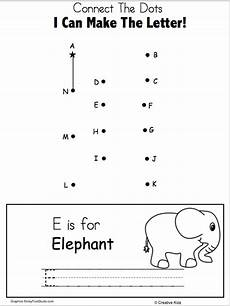 handwriting worksheets with starting dots 21631 free letter e writing and dot to dot worksheet madebyteachers