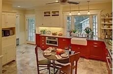 delorme designs red and white kitchen love