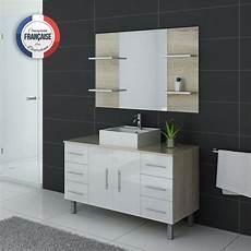 ensemble meuble salle de bain bicolore meuble salle de