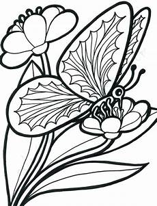 coloring pages of roses and butterflies at getcolorings