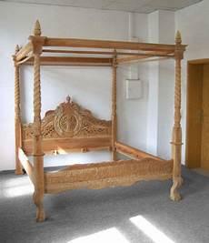 bett antik holz doppelbett rokoko himmelbett bett 180 x 200 cm ehebett
