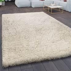 teppich creme teppich wohnzimmer shaggy hochflor flokati modern