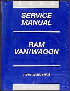 car engine repair manual 2002 dodge ram van 1500 electronic toll collection 2002 dodge ram van wagon repair shop manual original b1500 b3500