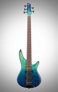 Ibanez Sr875 Electric Bass 5 String Blue Reef Gradation