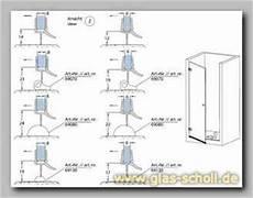 Dichtungen Für Duschen - a vz dichtungen f 252 r glasduschen glas scholl gmbh